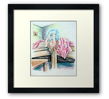 Anne Upside Down Framed Print