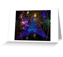 Astral Travel (part 3, One with the Universe) Greeting Card