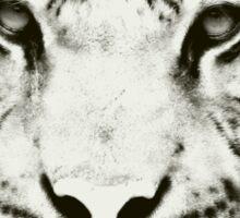 Tiger black/white Sticker