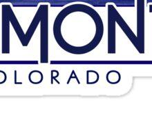 Dumont Colorado wood mountains Sticker