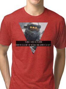 Master cheif Tri-blend T-Shirt