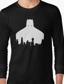 DC - Gotham Batman White Long Sleeve T-Shirt