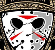 Samurai Jason Sticker