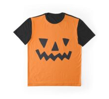 Pumpkin Face Graphic T-Shirt