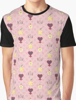KH Destiny Trio Pattern - Pink Graphic T-Shirt