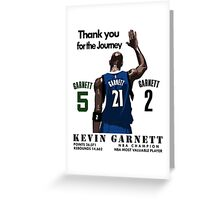 Garnet retire Greeting Card