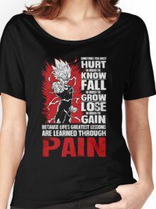 The DragonBall - Vegeta  Women's Relaxed Fit T-Shirt