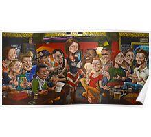 Mrs Smith's Great Britain Hotel Pub Trivia Last Supper Poster