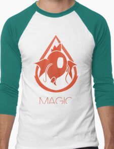 PM - Team Magic Men's Baseball ¾ T-Shirt