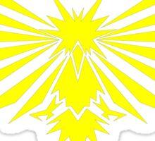 Yellow Bird - Team Instinct - Pokemon Sticker
