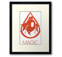 PM - Team Magic Framed Print