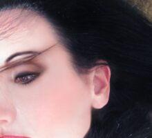The Beautiful Prisoner - Self Portrait Sticker