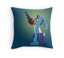 Optimus Prime - Écorché (blueprint v1) Throw Pillow