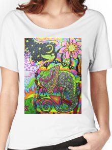 """A Face Full"" Women's Relaxed Fit T-Shirt"