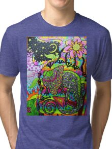"""A Face Full"" Tri-blend T-Shirt"