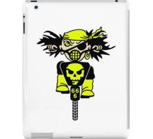 BMX Biker Pirate VRS2 iPad Case/Skin