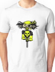 BMX Biker Pirate VRS2 T-Shirt
