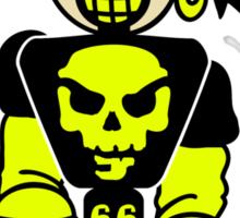 BMX Biker Pirate Sticker