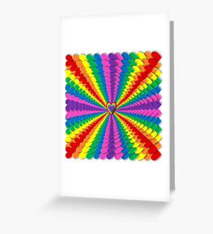 LOVE LIEBE  Greeting Card