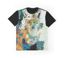 Fox in Pearls Graphic T-Shirt