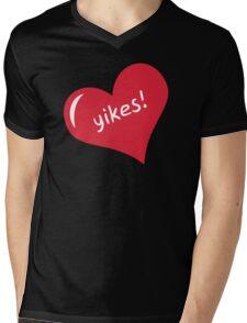 Yikes II Mens V-Neck T-Shirt