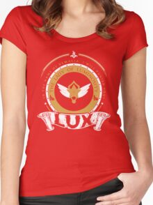 Lux - The Lady of Luminosity Women's Fitted Scoop T-Shirt
