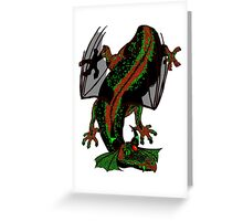 Drunk Dragon Greeting Card
