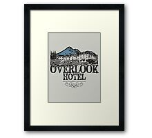 The OverLook Hotel Framed Print
