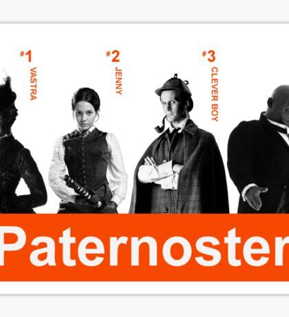 Choose Paternoster Sticker