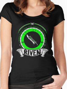 Riven - The Exile Women's Fitted Scoop T-Shirt