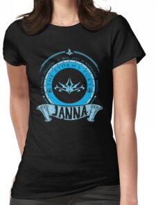 Janna - The Storm's Fury Womens Fitted T-Shirt