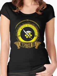 Master Yi - The Wuju Bladesman Women's Fitted Scoop T-Shirt