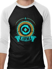 Karma - The Enlightened One Men's Baseball ¾ T-Shirt