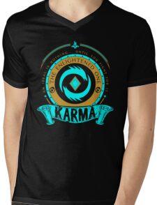 Karma - The Enlightened One Mens V-Neck T-Shirt