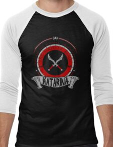 Katarina - The Sinister Blade Men's Baseball ¾ T-Shirt
