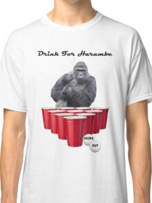 Drink for Harambe Classic T-Shirt