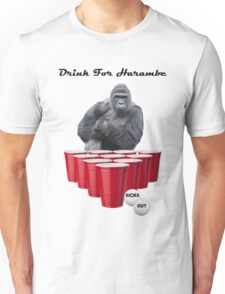 Drink for Harambe Unisex T-Shirt