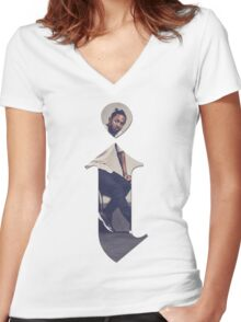 Kendrick Lamar - i Women's Fitted V-Neck T-Shirt