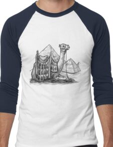 Camel Shirt, Pyramids Shirt Men's Baseball ¾ T-Shirt