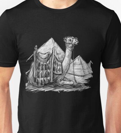 Camel Shirt, Pyramids Shirt Unisex T-Shirt