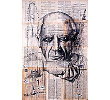 Pablo Picasso Photographic Print