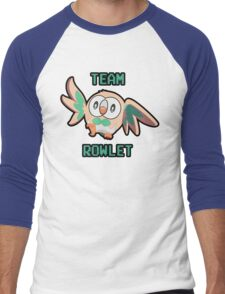 Team Rowlet Men's Baseball ¾ T-Shirt