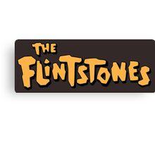The Flintstones Canvas Print