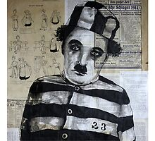 Charles Chaplin by Palluch Atelier