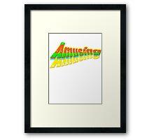 AmuSING Framed Print