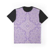Purple Mandalas Graphic T-Shirt