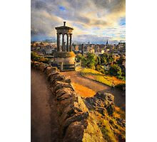 An Auld Reekie sunset Photographic Print