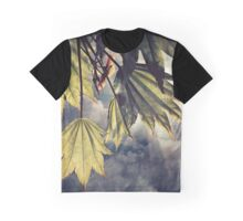 full moon maple sky Graphic T-Shirt