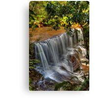 Somersby Falls with the new Canon 5D Canvas Print