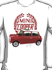 Classic 1990 Mini Cooper Special red T-Shirt